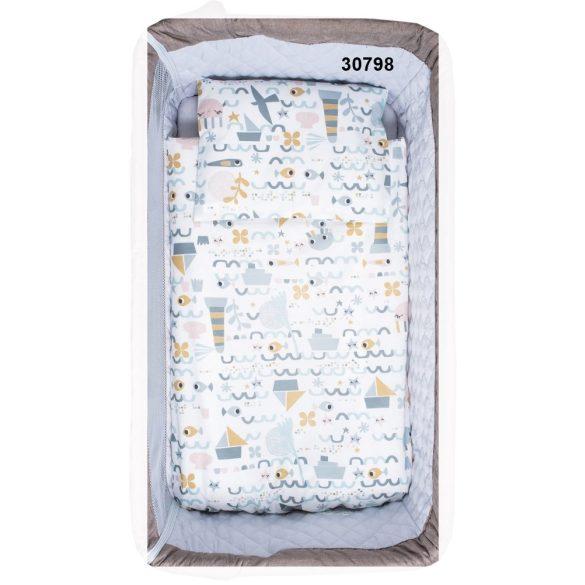 5 részes ágynemű szett bölcsőbe és babaöbölbe