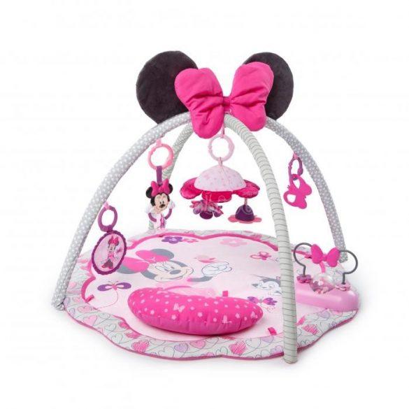 Minnie Mouse kertje játszószőnyeg (pocakpárnával, játékokkal, dallamokkal)