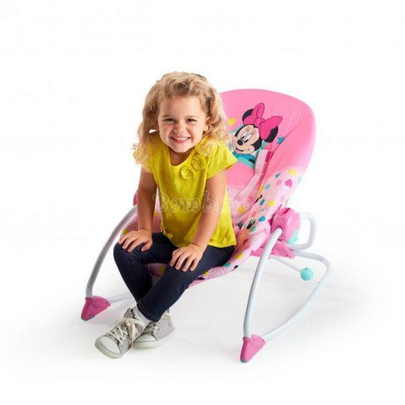 BS Starts&Smiles 2in1 Minnie Mouse rezgő pihenőszék