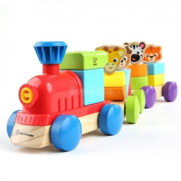 Fa játék vonat