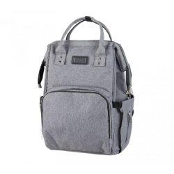 Sisi pelenkázótáska/hátizsák - Grey Melange