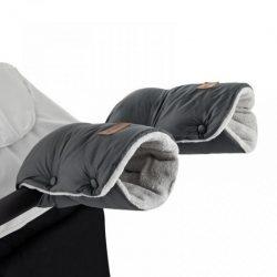P&M Jasie  kesztyű kézmelegítő babakocsira - Charcoal Grey