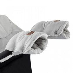 P&M Jasie  kesztyű kézmelegítő babakocsira - Steel Grey