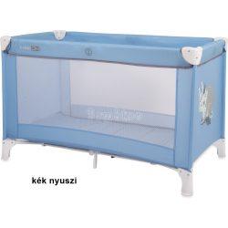 FreeON Love állatkás utazóágy - kék nyuszi