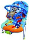 FreeOn Relax rezgő, zenélő pihenőszék - kék
