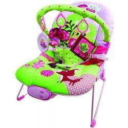 FreeOn Relax rezgő, zenélő pihenőszék pink