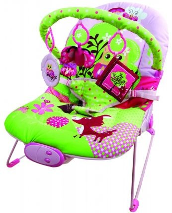FreeOn Relax rezgő, zenélő pihenőszék - pink