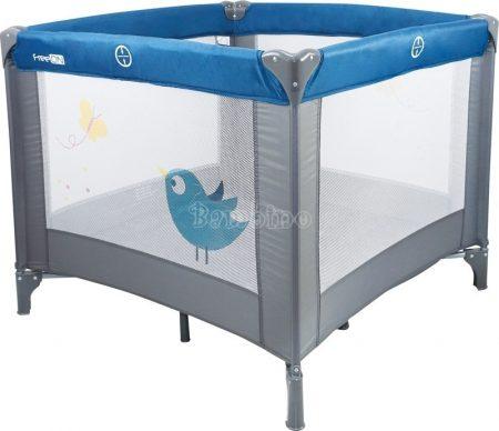 FreeOn mintás utazójáróka - kék madár