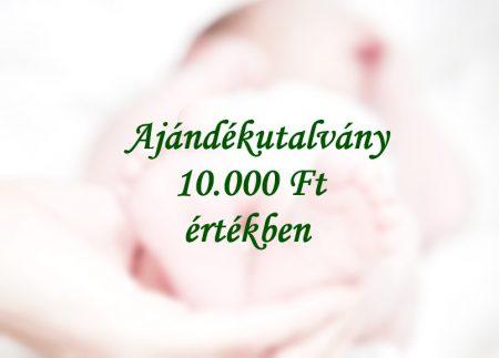 10000 Ft-os ajándékutalvány