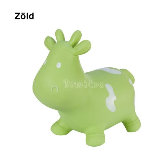 Tootiny felfújható ugráló játék tehén (több színben)