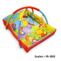Baby Mix peremes játszószőnyeg - Szafari mintás