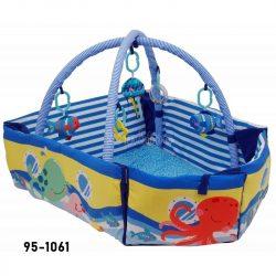 Baby Mix hajós peremes játszószőnyeg