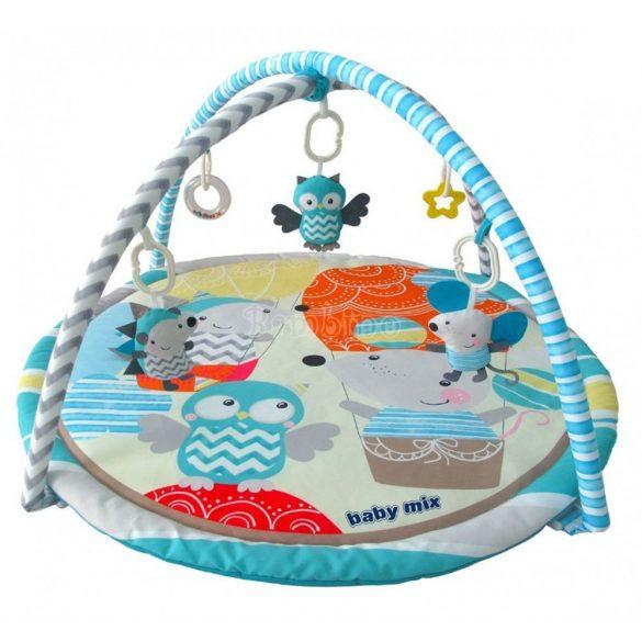 Baby mix zenélő játszószőnyeg bagoly és süni