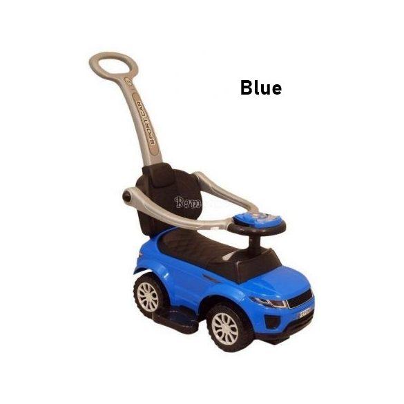 Tolókaros bébitaxi - kék