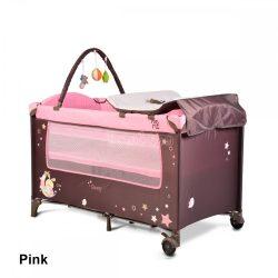 Cangaroo Sleepy kétszintes utazóágy - pink