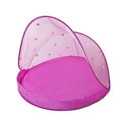Cangaroo napsátor és utazóágy UV 30 védelemmel - pink