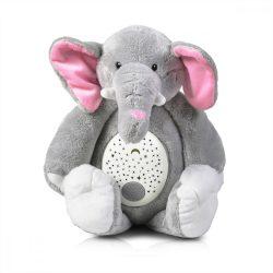 Elefánt éjszakai fény és altatódal lejátszó