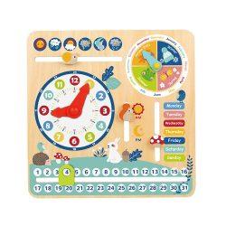 Tooky Toy az én kalendáriumom fa képességfejlesztő játék