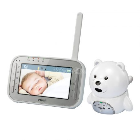 Vtech BM4200 videós bébiőrző, macis