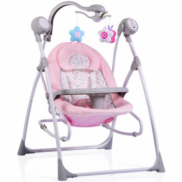 Cangaroo Swing Star elektromos hinta és pihenőszék 3in1 - Pink