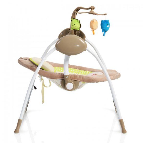 Cangaroo Swing baby swing+ cappucino elektromos hinta