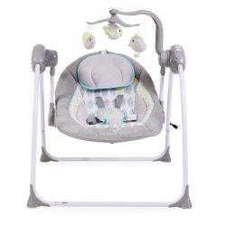 Cangaroo Swing Baby+ szürke elektromos hinta