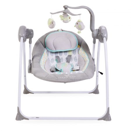 Cangaroo Swing Baby swing+ szürke elektromos hinta