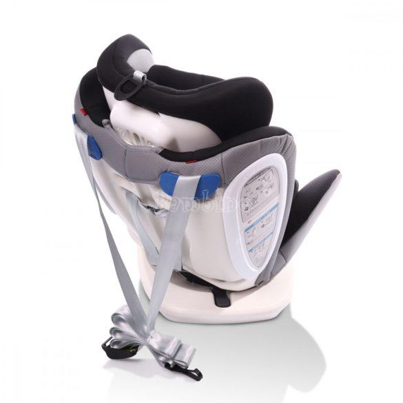 Cangaroo Pilot SPS Isofix forgatható gyerekülés napellenzővel 0-36 kg szürke