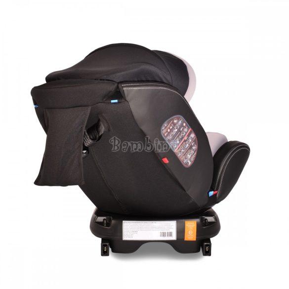 Cangaroo Pilot SPS Isofix forgatható gyerekülés napellenzővel 0-36 kg denim