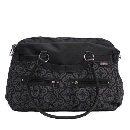 JJ Cole Satchel Bag charcoal infinity pelenkázó táska