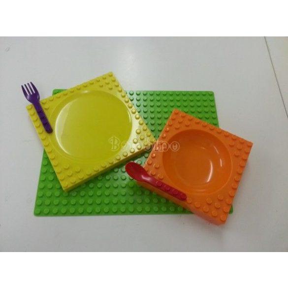 Étkészlet, Lego Duploval kompatibilis