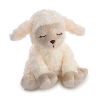 Altatódal lejátszó plüss bárány
