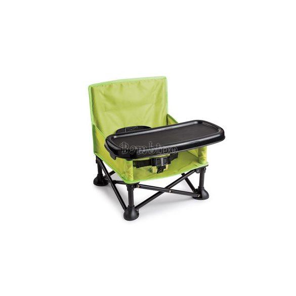 Pop N Sit hordozható székmagasító etetőszék - zöld