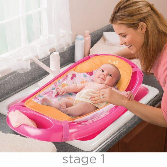 Summer Infant Splish 'N Splash babakád szett - pink