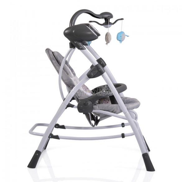Cangaroo Swing Star elektromos hinta és pihenőszék 3in1 - szürke