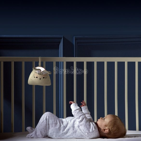 Purflo nyuszi altatódal lejátszó és éjszakai fény