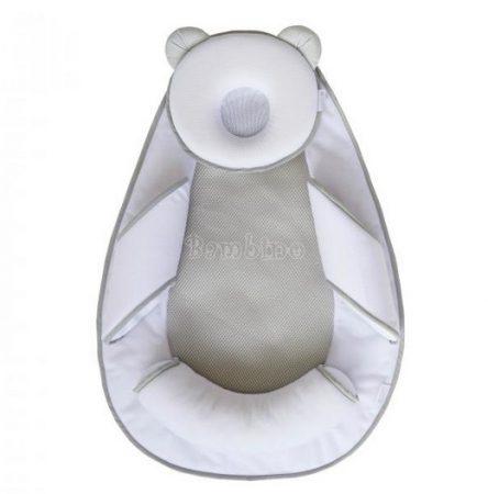 Candide babafészek Air+ Panda Pad szürke/fehér