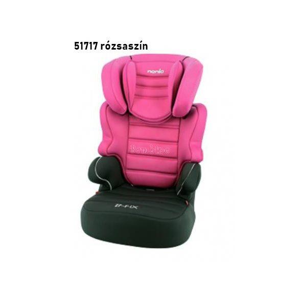 Nania Befix SP Luxe gyerekülés 15-36 kg pink
