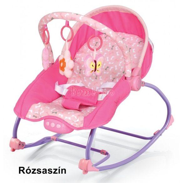 Baby Mix rezgő-zenélő pihenőszék és babafotel 2in1