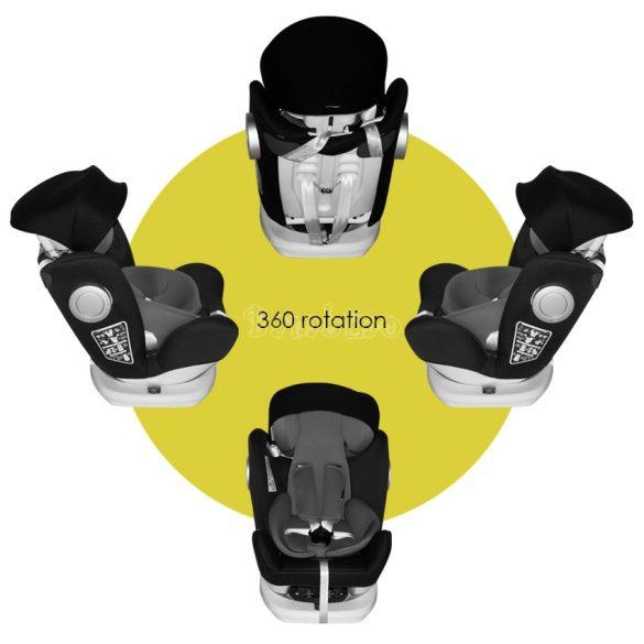Lorelli Lusso SPS isofix autósülés napellenzővel 0-36 kg