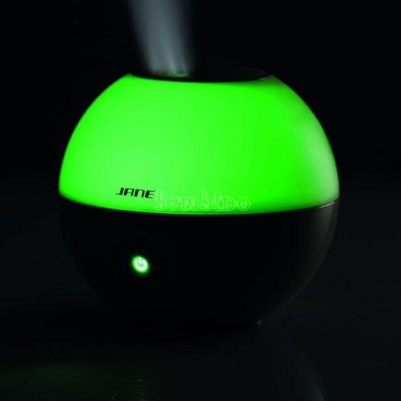 Jané Moon aromaterápiás ultrahangos párásító-színváltós