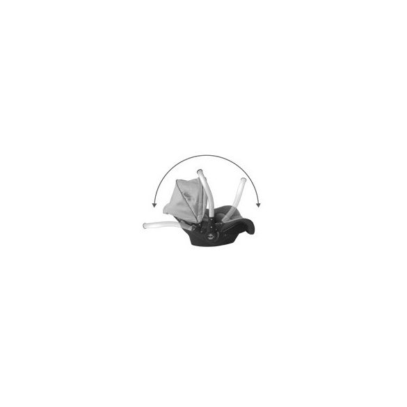 Lorelli Pluto autós hordozó 0-13 kg - Black