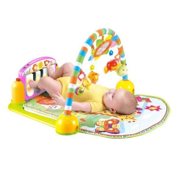 Lorelli Toys játszószőnyeg - Piano Gym pink