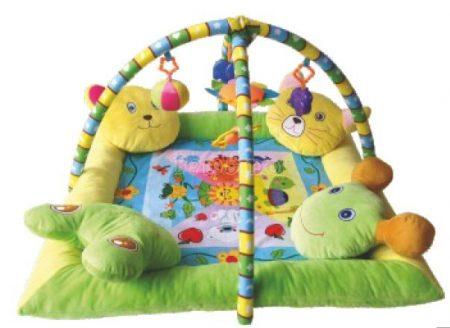 Lorelli Toys játszószőnyeg 4 párnás peremmel - átmeneti készlethiány