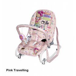 Lorelli Rock Star pihenőszék - Pink Travelling