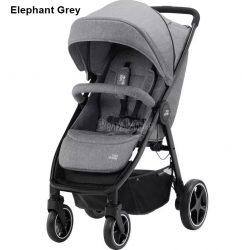 Britax Römer B-Agile M sport babakocsi - Elephant Grey