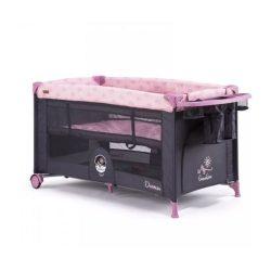 Chipolino Dormeo multifunkciós utazóágy - peony pink