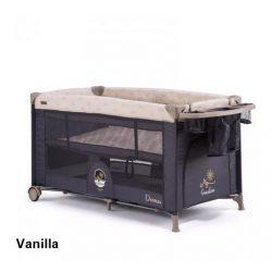 Chipolino Dormeo multifunkciós utazóágy - vanilla