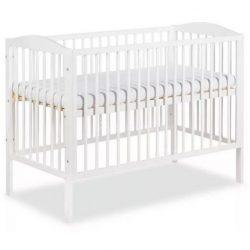 Klups Henry kiságy, babaágy 60x120 - fehér