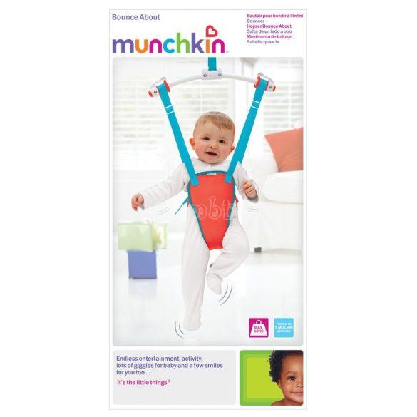 Munchkin ajtóra akasztható hinta kék és piros